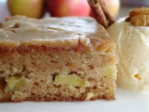 Fresh Apple Cake with Caramel Glaze Recipe