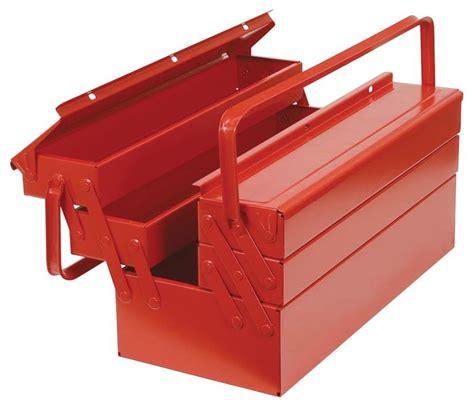 caisse 224 outils vide de 5 compartiments en m 233 tal dot 233 seton fr