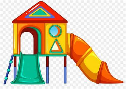 Playground Clipart Playhouse Clip Outside Equipment Outdoor