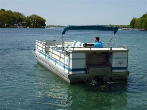 Tritoon Boats For Sale Used by 1995 Used Jc Pontoon 266 Hd Tritoon Pontoon Boat For Sale