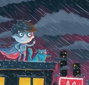 Superhero, Duo, By, Jevs, Illustration, On, Storybird
