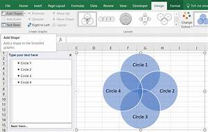 How To Make A Venn Diagram In Excel