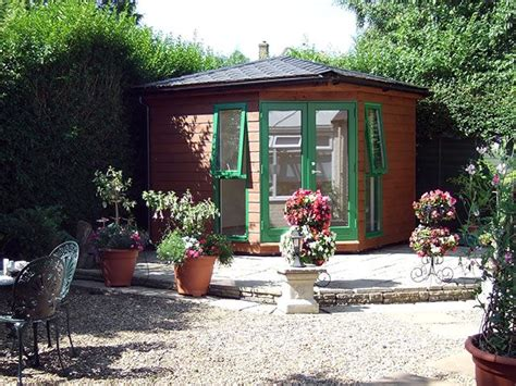 pin  chris williams  sheds garden cabins garden pods garden studio