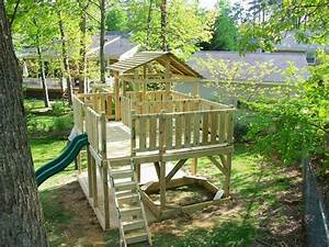 Children's playground ideas in the backyard