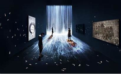 Teamlab Interactive Water Pace Installation Universe Dimension