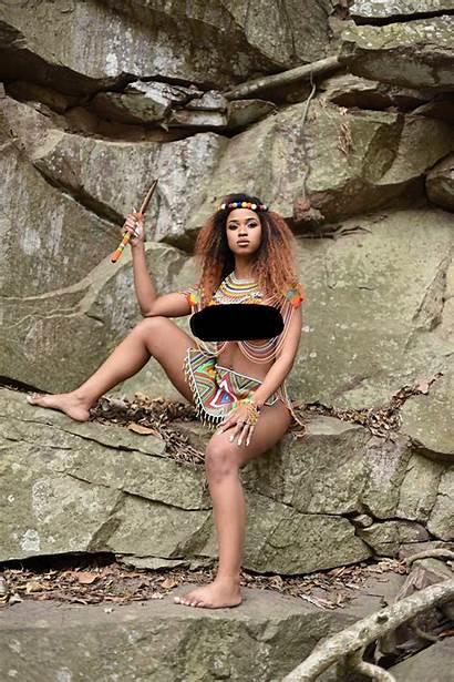 Zulu African South Africa Lady Culture Celebrate