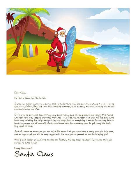 easy  letter  santa magical package