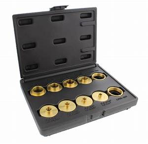 Dct Brass Router Template Guides Bushing  U0026 Lock Nuts 10