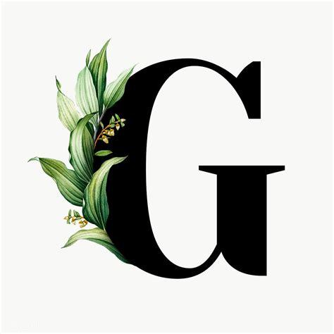 botanical font letter  royalty  transparent png