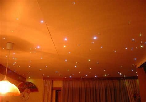 plafond chambre étoilé plafond étoilé à led réalisation astuces pratiques