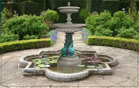 medium  tier bronze triple dolphin garden fountain