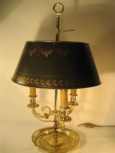 Abat Jour Salon : lampe bouillotte xix me abat jour tole bronze dore 3 bras bouillotte lamp in ormolu with ~ Teatrodelosmanantiales.com Idées de Décoration