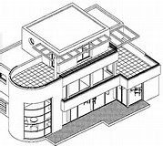 HD wallpapers architecture moderne maison dessin www ...
