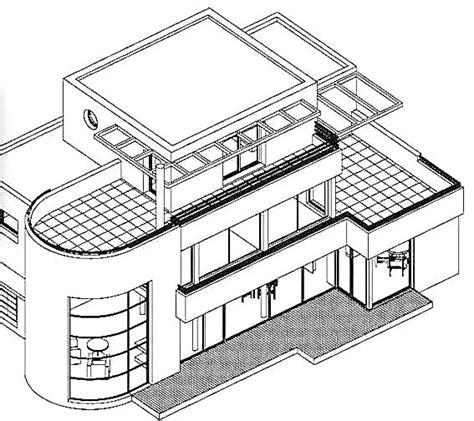 architecture moderne maison dessin chaios