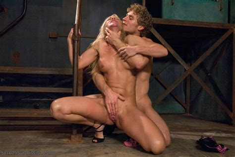Sadistic Security Guards Fuck Sexy Milf In The Armory