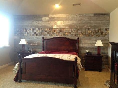 Wood Plank Bedroom Wall