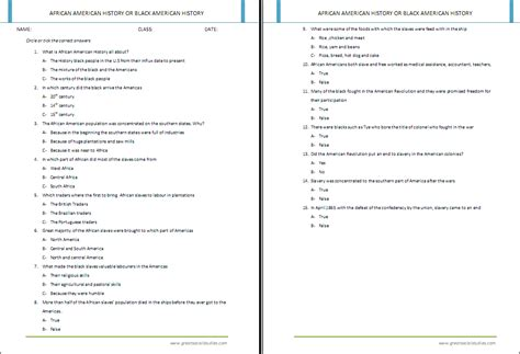american history worksheets resultinfos