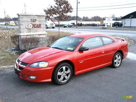 2004 Indy Red Dodge Stratus Rt Coupe 41300888 Gtcarlot