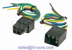 6 Pin Square Camper Wiring Harness