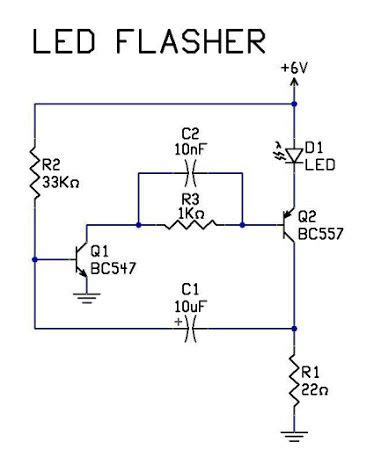 Ledflashercircuit Electrical Circuit Used Power
