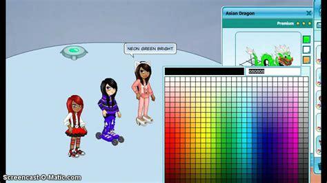 woozworld colour codes youtube