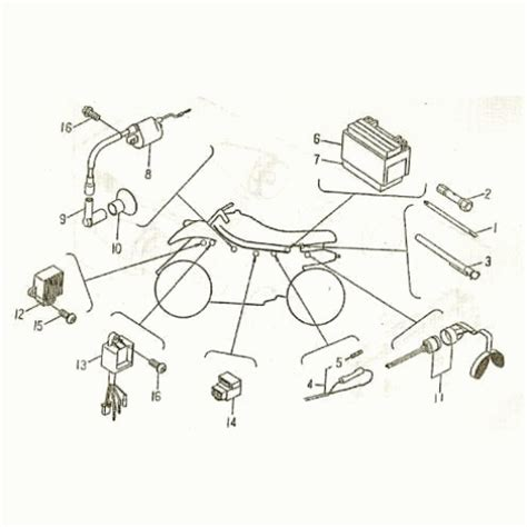 Bmx Atv Part Wiring Diagram by Bmx Atv Wiring Harness Best Place To Find Wiring And