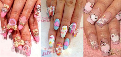 12 + Amazing 3d Heart Nail Art Designs, Ideas, Trends