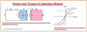 Power And Torque In Induction Motors