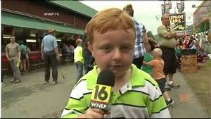 Kid Reporter's Live TV Interview 'Apparently' Goes Viral ...