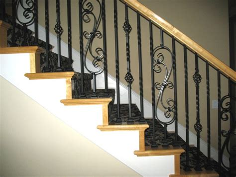 wrought iron spindles iron stair balusters stair parts wood iron balusters