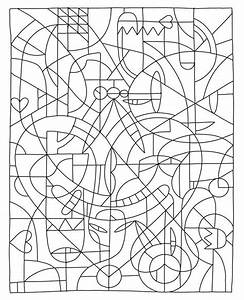 Advanced Color By Number Coloring Pages - Coloring Home