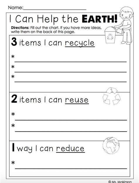 freebie earth day printables quot i can help the earth