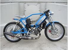 Garage Build THawk by Tomahawk Mopeds
