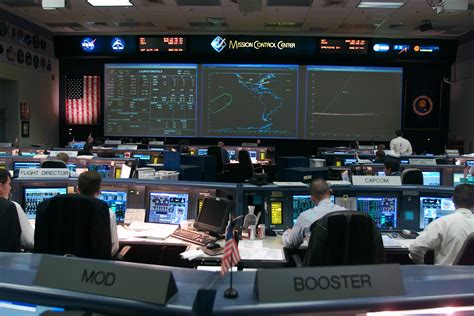 mission bureau de controle nasa mission center gallery