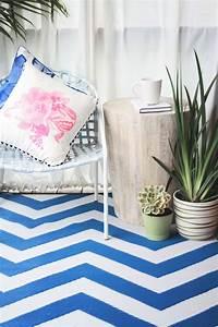 Teppich Blau Weiß : garten im quadrat outdoor teppich laguna zickzack blau wei ~ Whattoseeinmadrid.com Haus und Dekorationen