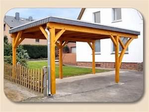 Carport Holz Selber Bauen : carport flachdach freistehend selber bauen von ~ Markanthonyermac.com Haus und Dekorationen