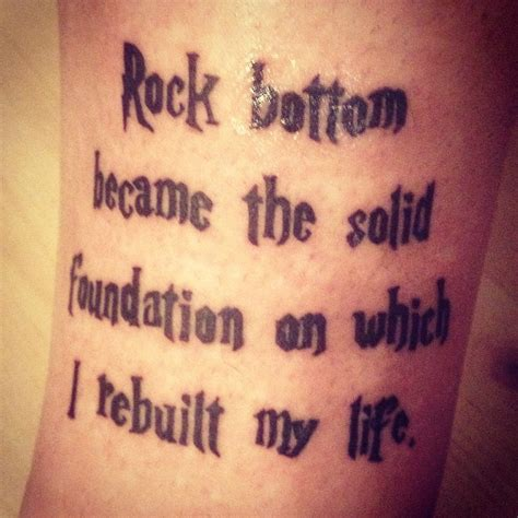 harry potter quote tattoo jk rowling harry potter