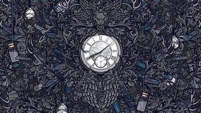 Gothic Digital Artwork Desktop Clocks Wallpapers Jared