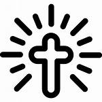 Cross Icon Icons Christian Shapes Christianism