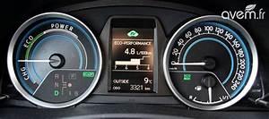 Avis Toyota Auris Hybride : voiture hybride notre essai de la nouvelle toyota auris ~ Gottalentnigeria.com Avis de Voitures