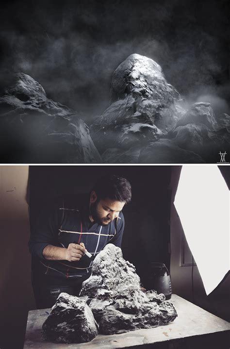 photographer creates epic outdoor scenes  miniature
