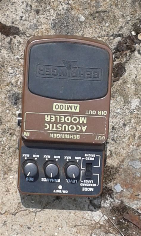 Behringer Am100 Uf 100 acoustic modeler am100 behringer acoustic modeler am100