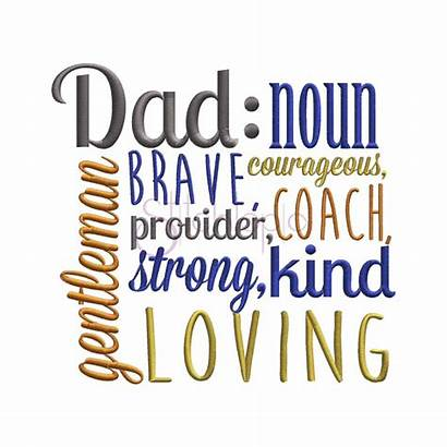 Dad Embroidery Definition Machine Stitchtopia Fathers Moon