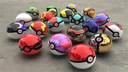 Pokeball Pokeballs Balls Wallpapers Charger Backgrounds Types