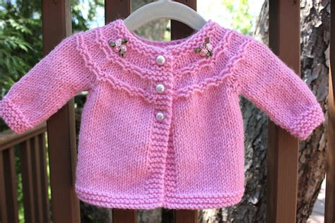 knitting baby sweater pretty in pink a baby sweater big a a