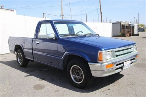 old car owners manuals 1988 mazda b series seat position control find used 1988 mazda b series pickup b2200 reg cab manual 4 cylinder no reserve in