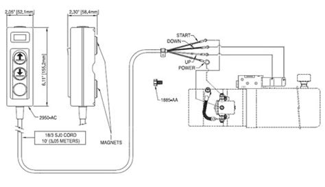 Hydraulic Dump Trailer Wiring Diagram by Remote W Cord For 12v Hydraulic Dual