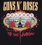 Women's Black Guns N Roses Welcome To The Jungle T-Shirt