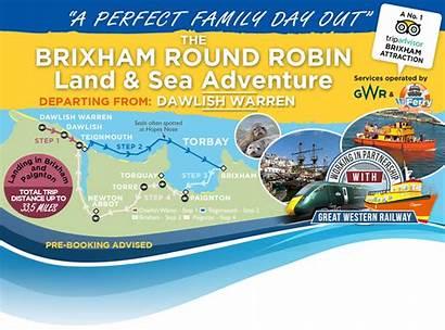 Brixham Dawlish Warren Round Teignmouth Robin Harbour
