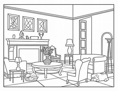 Coloring Living Pages Around Adults